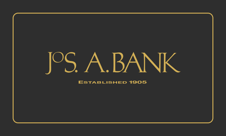 Jos. A. Bank gift cards